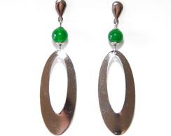 Brinco Jade Verde