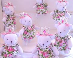 20 Ursinhas Princesas Personalizadas