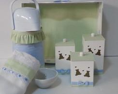 Kit Higiene Ursinho Com Fralda