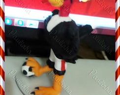 mascote do flamengo de biscuit