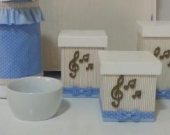 Kit Higiene Notas Musicais