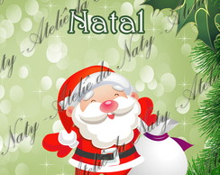 Adesivo Para Tubete Natal
