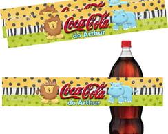 R�tulo Coca Cola 19,5 X 3,5 Cm Safari