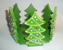 Porta Panetone �rvore de Natal