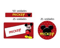 Kit Etiqueta prova a �gua Mickey