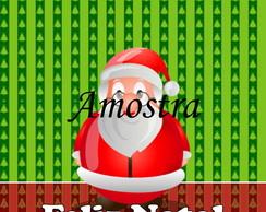 Adesivo Para Tubete - Natal