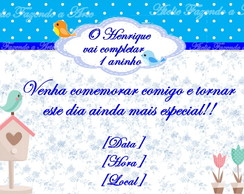Convite 10x15 Com Envelope