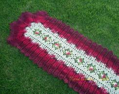 Passadeira de Croch� Vermelha