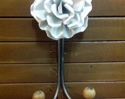 Cabideiro 1 flor de ferro