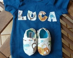 KIT BODY E PANTUFA PERSONALIZADO