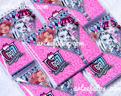 Bloco Personalizado - Monster High