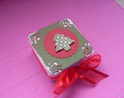 Caixinha De Acr�lico De Natal
