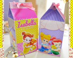 Caixa Milk Princesas Baby