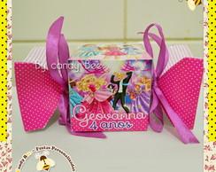 Caixa Bala Barbie Escola de Princesas