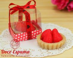 Sabonete Mini Torta de Morango