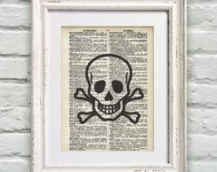 Poster P�gina De Dicion�rio Skull
