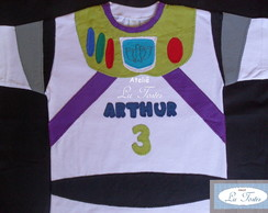 Camisa Buzz Lightyear (Toy Story)