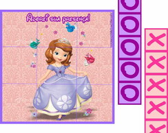 Princesa Sophia Jogo da Velha