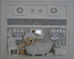 Nic Francisco na Banheira