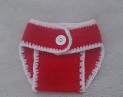 Tapa Fraldas de Croch� Rec�m Nascidos