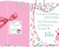 Convite Ch� De Fraldas Natal