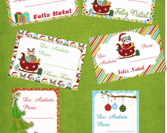 Kit Tags Para Presente De Natal