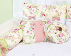 KIT BICAMA ALICE FLORAL 8P�S