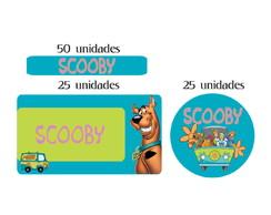 Kit Etiqueta prova a �gua Scooby