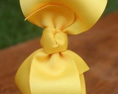 Tiara La�o Boneca GG - amarela