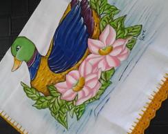 Pano de prato de pato