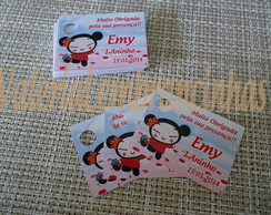 20 Tags  Personalizados Pucca