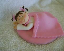 topo bolo batizado pra menina