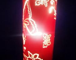 Lumin�ria Borboletas em PVC
