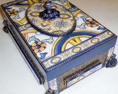 Caixa em Arte Azulejo