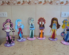 enfeites para mesas monster high