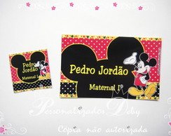 Kit Etiqueta Escolar MICKEY
