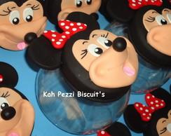 baleiro mickey e minie em biscuit