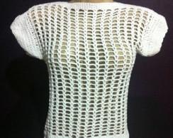 Blusa de Croch� Tela