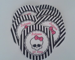 Topper para Cup Cake Monster High