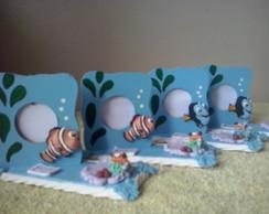 5 Porta  Retrato tema  Nemo  em Biscuit