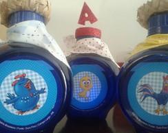 Garrafinhas de �gua personalizadas