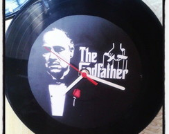 Rel�gio Decorativo  Vinil The Godfather