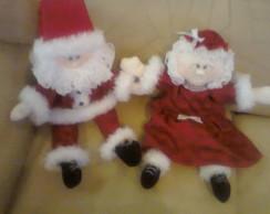 Papai Noel e Mam�e Noel