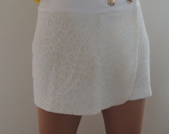 Short Saia Renda