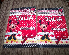 Revista colorir Minnie Mickey