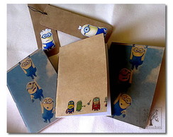 Kit de mini Cadernos (Minions)