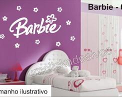 Adesivo infantil meninas Barbie -02