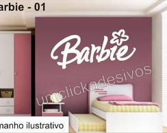 Adesivo Infantil Meninas Barbie -01