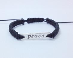 Pulseira Peace - Unissex - Frete Gratis