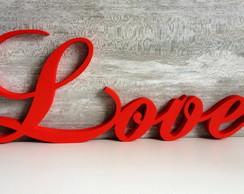 LOVE - Palavras Decorativas de Madeira